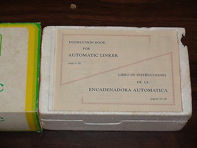 Knitting Machine Accessory Singer Suit Sk 260/360 Automatic Linker Sc3 Vgc