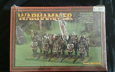 WARHAMMER - GWS - Caballeros del Caos (Knights of Chaos) METAL