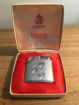 Ronson Lighter With Box