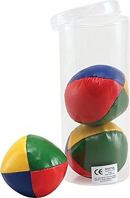 Set Of 3 Professional Juggling Balls Clown Circus