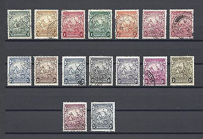 BARBADOS 1938-47 248/56A USED Cat £22