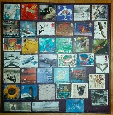 175 GB commemorative stamps : ALL DIFFERENT - OFF PAPER :