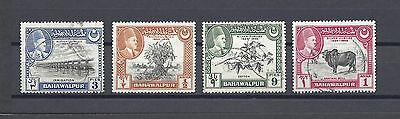 PAKISTAN / BAHAWALPUR 1949 39/42 USED Cat £29