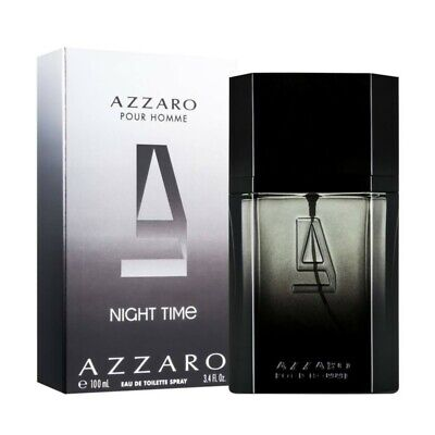 AZZARO NIGHT TIME EAU DE TOILETTE 100ml VAPO SPRAY NEUF BLISTER AUTHENTIQUE