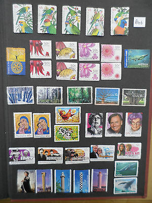 A46  Australia   Fine Used Stamps 2005-2006  Cv £30.85