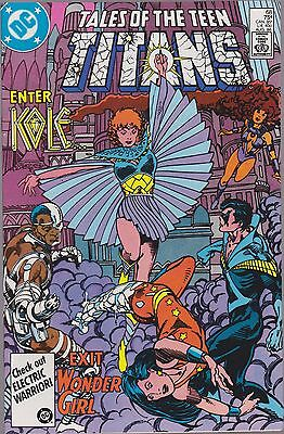 Tales Of The Teen Titans #68 Dc 1986