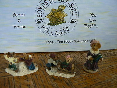 "Boyds Bearly Built Aces'sory ""Boyds Bearly School"" Mint in Box"