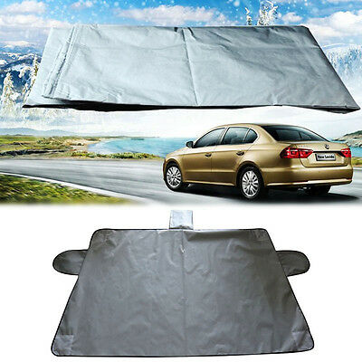 Car Truck SUV Magnet Windshield Cover Sun Shield Snow Ice Frost Freeze Protector