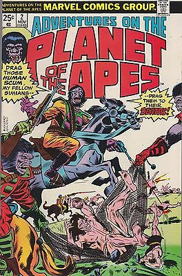 Adventures On Planet Of The Apes #2 Marvel 1975