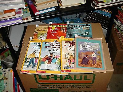 Encyclopedia Brown 11-16 including 15 and a half
