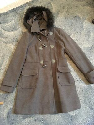 Girls coat size 10 grey Peacocks everyday style range