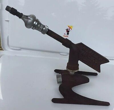 RED ROCKET Space Age Lawn Sprinkler c.1950 by W.D. Allen Mfg. Co. Chicago