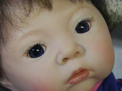 Reborn Akina LE from Adrie Stoete Glass eyes  What a Sweetheart! L@@K !
