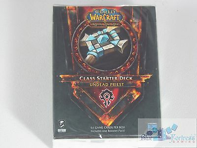 CLASS STARTER DECK LEARN TO PLAY WoW HORDE UNDEAD PRIEST WORLD of WARCRAFT