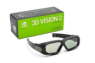 Nvidia 3D Vision 2 Wireless Glasses Ultimate Immersive Experience Original BNIB