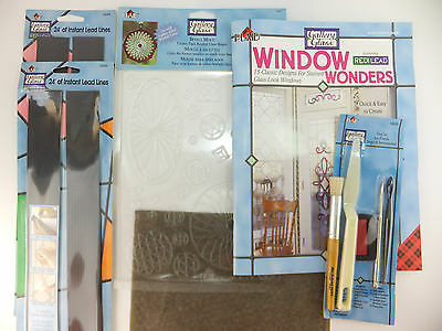 Gallery Glass Beveled Glass Door Kit with 48' Redi Lead + Bevel Mold