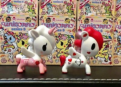 TOKIDOKI Unicorno Series 5 Blind Box figure - LOT of 2 NEW in Opened Boxes!