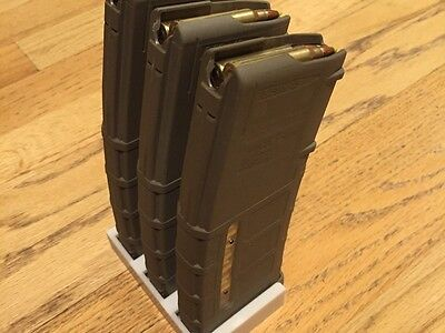 AR15 Magpul Pmag Rack (Triple) magazine mags support or Airsoft