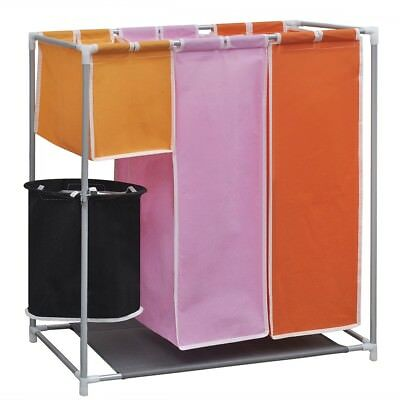# Laundry Hamper 3 Washing Basket Bags Sort with a Washing Bin Clothes Storage