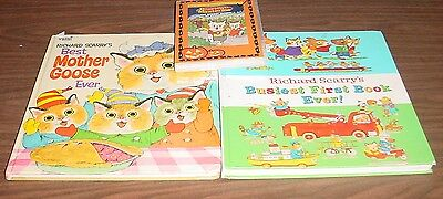 Richard Scarry's Best Mother Goose and Best First Book plus a DVD