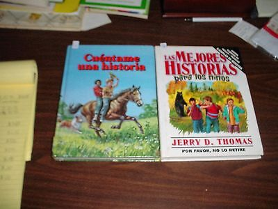 Great Stories for Kids 1 and Uncle Arthur's Bedtime Stories Books in Spanish