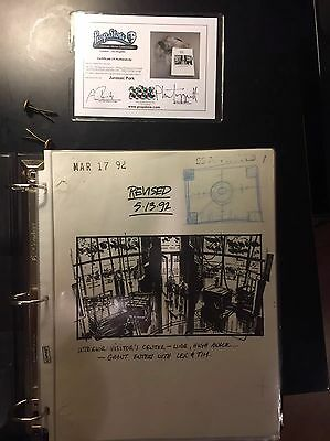 Jurassic Park Production Used Storyboards & Acetate Film Cells from Phil Tippett
