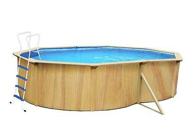 Above Ground Swimming Pool 4.8m x 3.6m x 1.2m WITH POOL LIGHT
