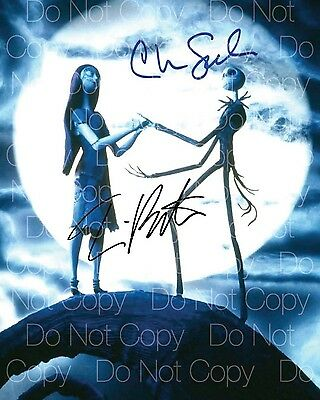 Nightmare Before Christmas signed Tim Burton 8X10 photo picture autograph RP
