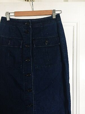 Country Road denim maxi skirt size 8