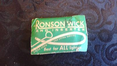 Vintage RONSON WICK and INSERTER Package, UNOPENED