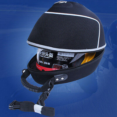 Deluxe  Waterproof Motorcycle Motorbike Scooter Carrier Storage Case Helmet Bag