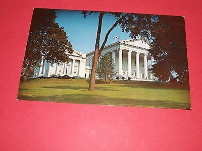 Virginia State Capitol, Postmarked 1959, Used Avg Condition