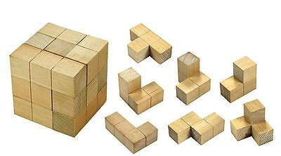 Soma Cube Puzzle Maths Games with Teacher Notes Resource Education Learning Kids