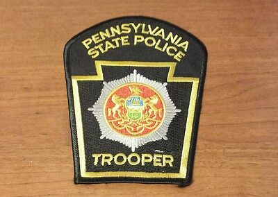 Pennsylvania State Trooper Police Shoulder Patch