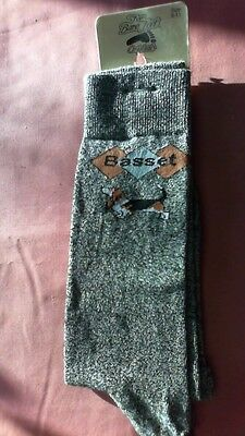 Basset Hound Socks by For Bare Feet NWT
