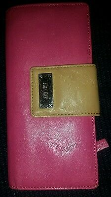 Kate Hill Pink Thin Wallet