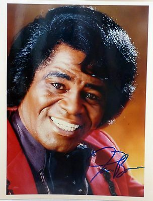 JAMES BROWN Signed Autographed 8 x 10 Glossy Guaranteed