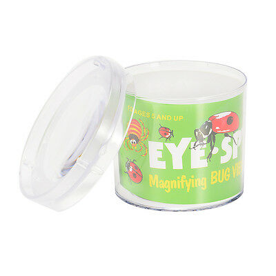 Insect Viewer Catcher Locket Box Jar Bug Magnifier Magnifying Loupe Science Toy