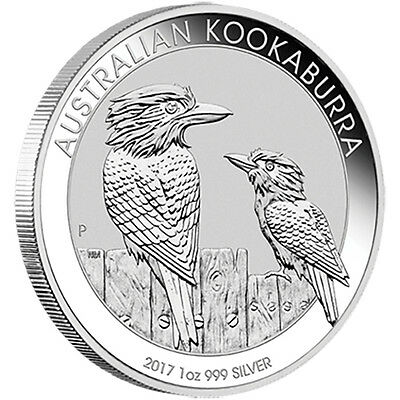 2017 Silver 1 oz Kookaburra Bullion Coin