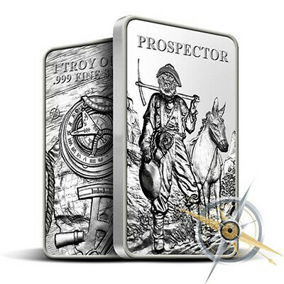 Provident Prospector 1oz Silver Bullion Bar – .999 Purity