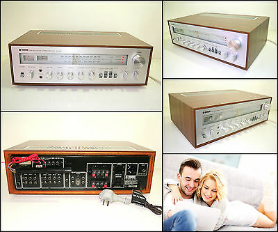 YAMAHA CR-800 Natural Sound Wooden Stereo Receiver (2 x 45W)