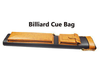 "32.5"" Billiard Cue Bag 6 holes for Cue Pool Cue Bag Billiard Stick Storage"