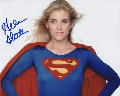 SuperGirl Helen Slater Autographed 8x10 Photo (Reproduction)