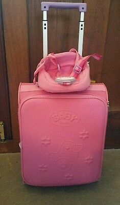 Baby Born Suitcase with Baby Born attachable seat
