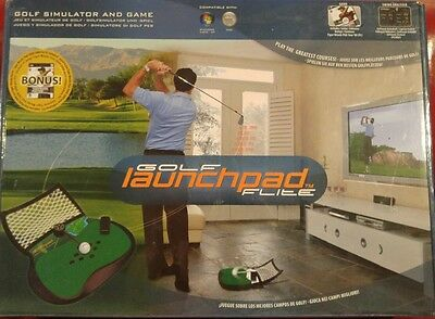New Electric Spin Golf Launchpad Simulator PC/MAC + Tiger Woods PGA Tour 08
