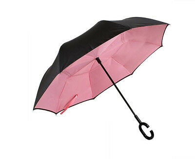 C-Handle Better Brella/ Inverted/ 2 Layer/Upside Down/Reverse Opening Umbrella