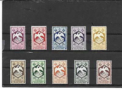 French Africa #   142-155, (Set)  Mh  Stamps Beautiful Coloring