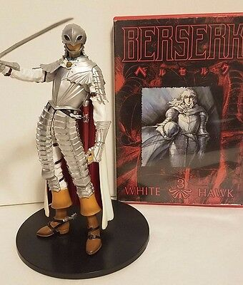 Griffith Statue with DVD berserk set bigger than figma figure
