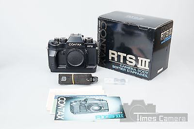 Contax RTS III RTS3 35mm DSLR Film Camera Body Boxed