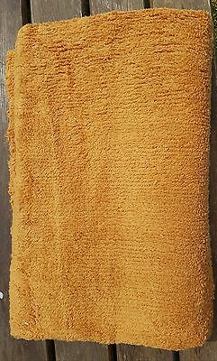 Golden Brown Chenille Fabric